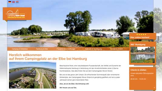 Camping Stover Strand Drage