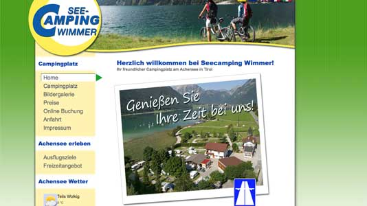 See-Camping Wimmer  Maurach