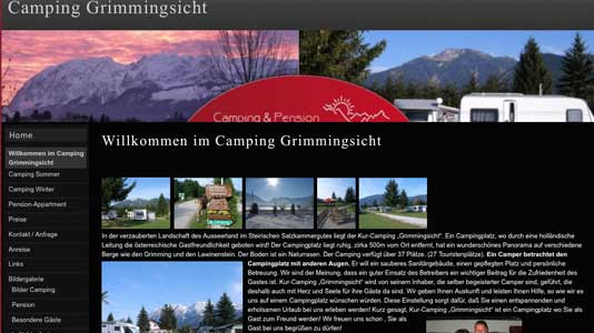 Camping & Pension Grimmingsicht Bad Mitterndorf