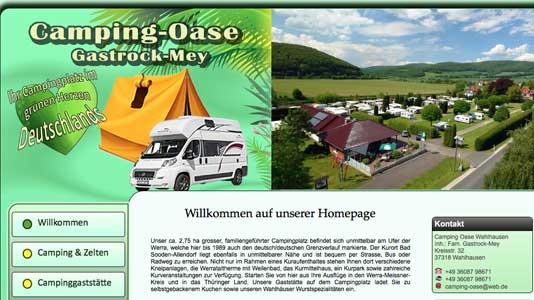 Camping-Oase Wahlhausen  Wahlhausen
