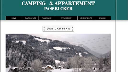 Camping & Appartement Passrucker Altenmarkt