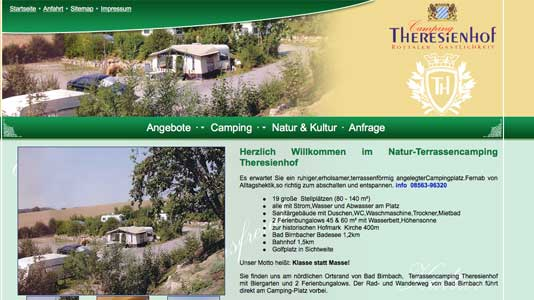 Camping Theresienhof Bad Birnbach