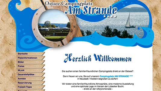 Camping Am Strande Neustadt in Holstein
