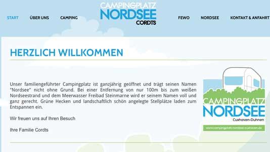 Camping Nordsee Cuxhaven-Duhnen