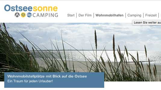 Camping Ostseesonne Pommerby