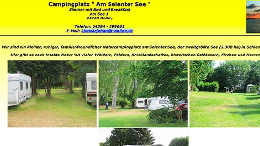 Campingplatz am Selenter See Bellin