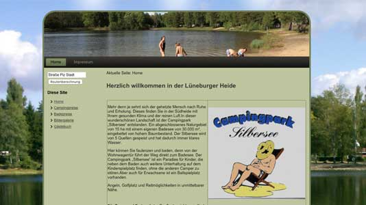 Campingpark Silbersee in Celle  Celle