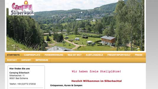 Camping Silberbach Bad Schlema