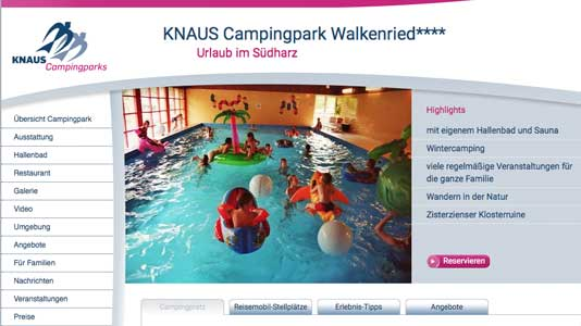 KNAUS Campingpark Walkenried Walkenried