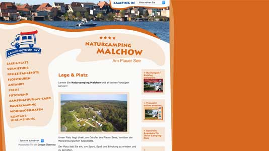 Naturcamping Malchow Malchow