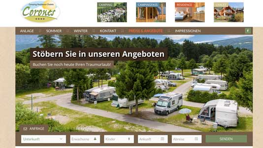 Camping Corones Rasen/Antholz