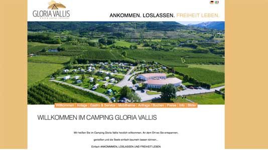 Camping Gloria Vallis Glurns
