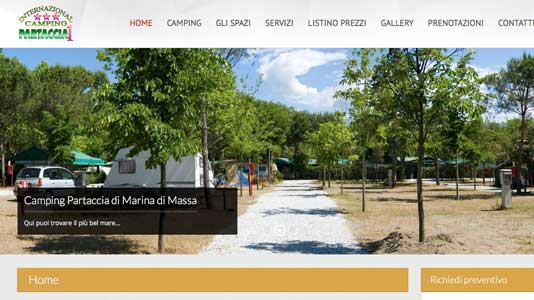 International Camping  Partaccia Marina di Massa