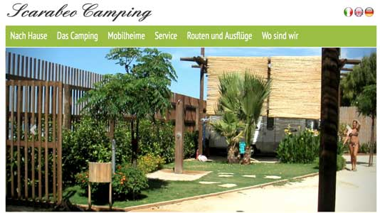 Camping Scarabeo  Punta Braccetto