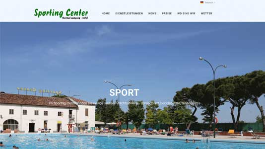 Camping Sporting Center Montegrotte Terme