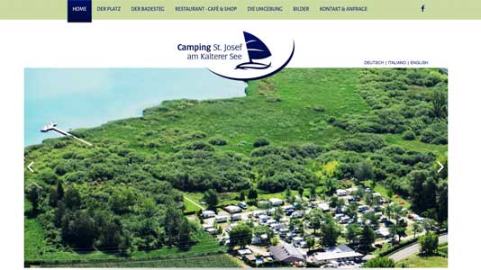 Camping St. Josef am Kalterer See Kaltern am See