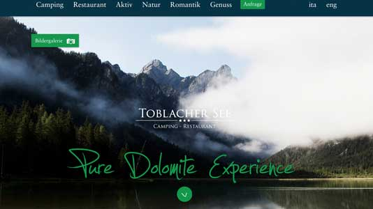 Camping Toblacher See Toblach