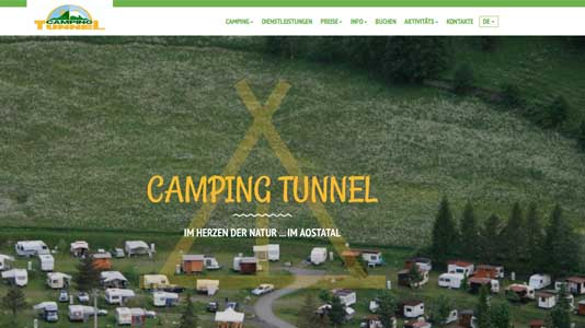 Camping Tunnel Etroubles