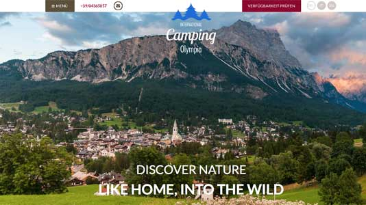 International Camping Olympia Cortina d'ampezzo