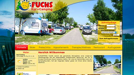 Kurcamping Fuchs Bad Füssing