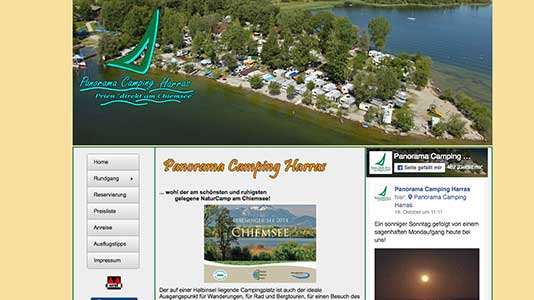 Panorama Camping Harras Prien am Chiemsee