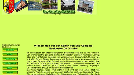 See Camping Neukloster Neukloster