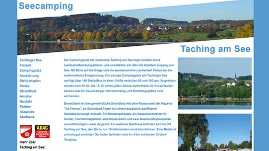 Seecamping Taching am See Taching am See