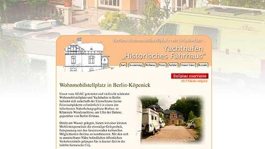Wohnmobilstellplatz Yachthafen Historisches Fährhaus